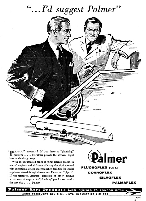 Palmer Aero Products Pipes