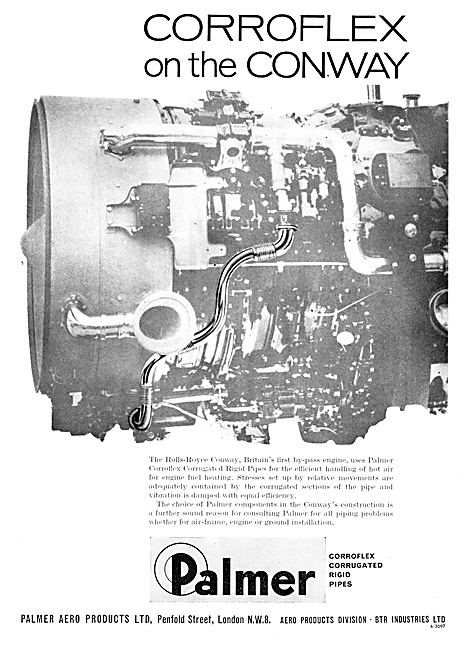 Palmer Aero Product. Corroflex Pipes