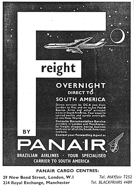Panair Brazilian Airlines 1963