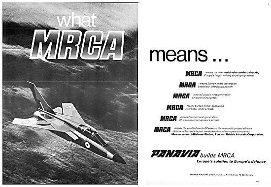 Panavia MRCA - Tornado