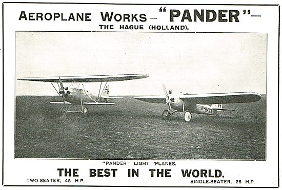 Pander Light Planes The Best In The World.