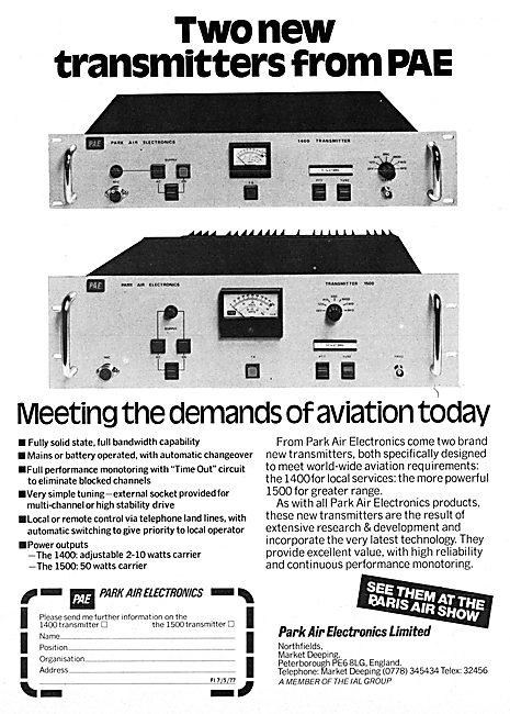Park Air Electronics,  Airfield VHF Radio Systems