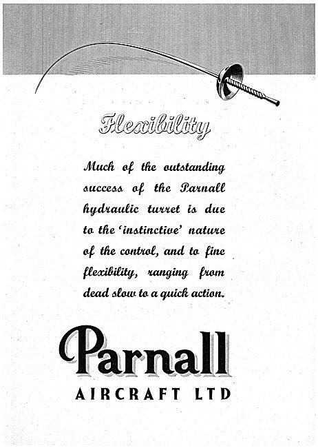 Parnall Aircraft - Aircraft Gun Turrets