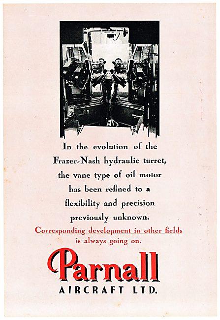 Parnall Aircraft - Frazer-Nash Gun Turret
