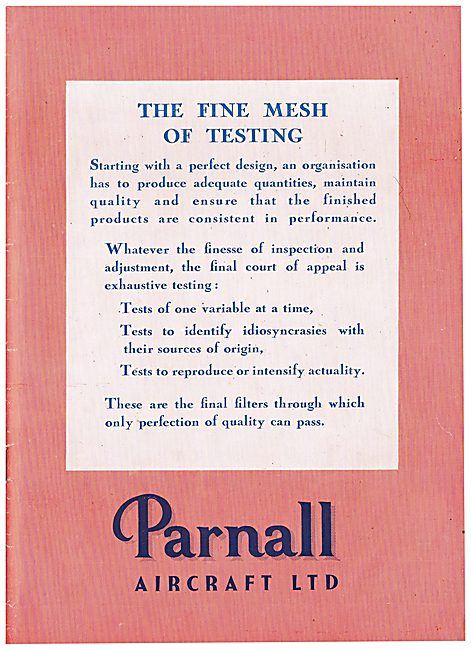 Parnall Aircraft Engineering