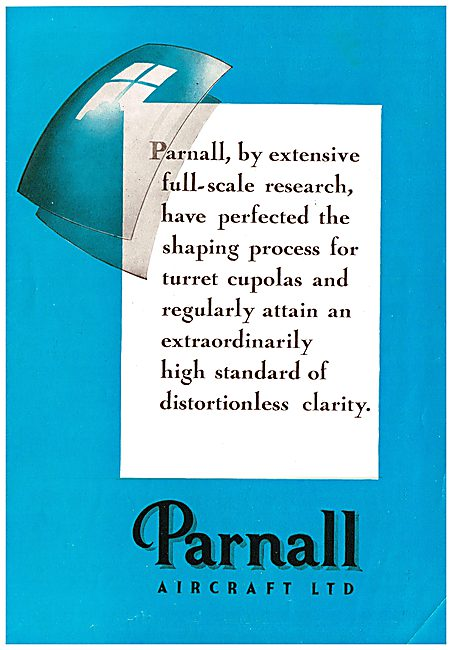 Parnall Aircraft - Frazer-Nash Gun Turrets & Cupolas