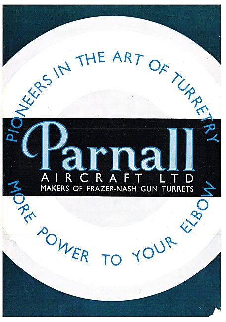 Parnalls Power Operated Gun Turrets