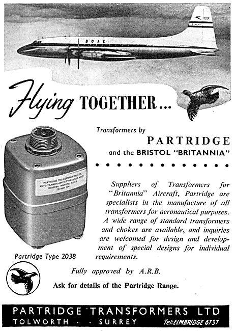 Partridge Transformers