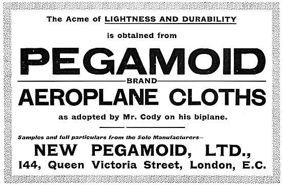 Pegamoid Aircraft Fabrics