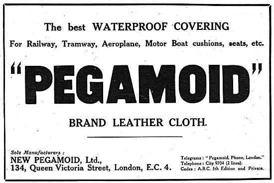 Pegamoid Brand Aero Cloths