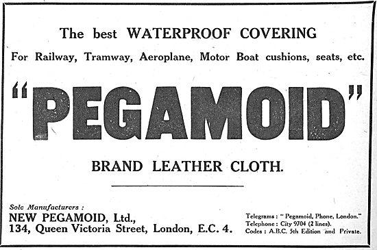 Pegamoid Brand. Aircraft Leather Cloth