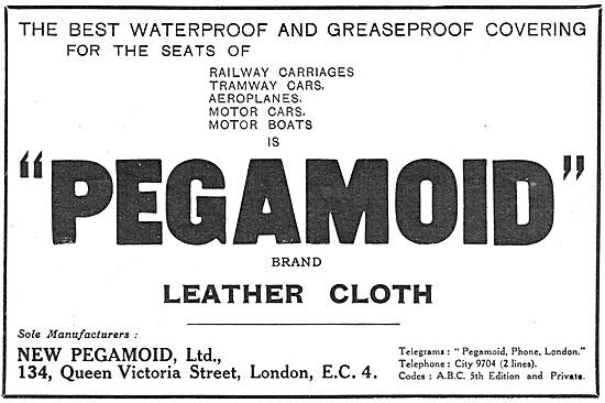 Pegamoid Leather Cloth