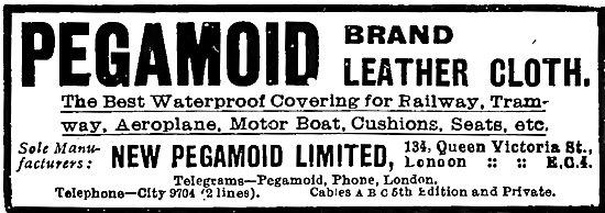 Pegamoid Brand Leather Cloth