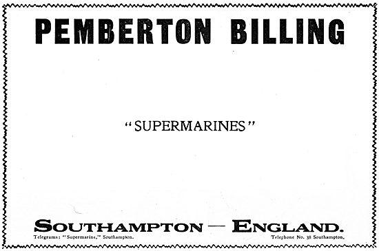 Pemberton-Billing - Supermarine