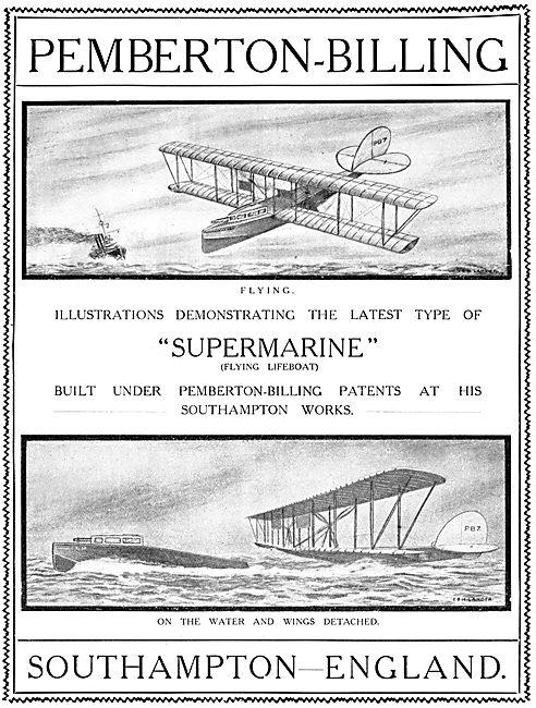Pemberton-Billing Flying Boats