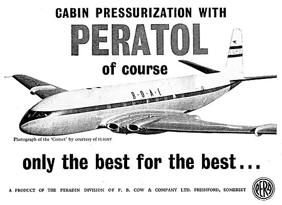 Peradin Peratol Sealing Compund. P.B.Cow