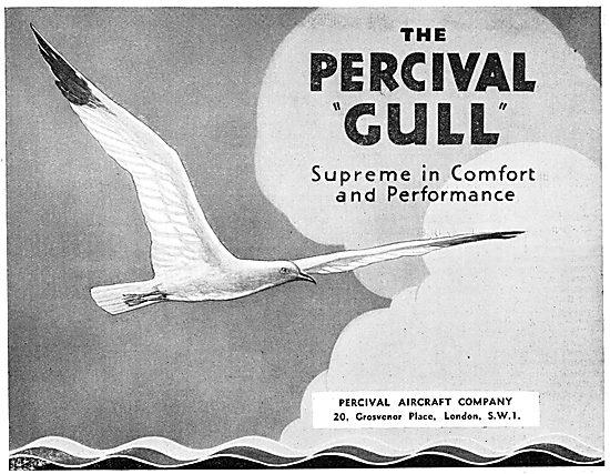 Percival Gull  1933
