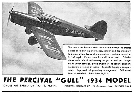 Percival Gull G-ACPA