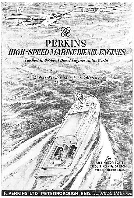 Perkins High-Speed Marine Diesel Engines - Fast Launches