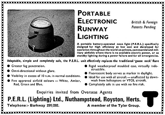 PERL - Portable Electric Runway Lighting