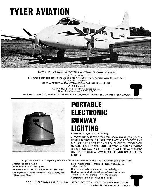 P.E.R.L. Portable Electronic Runway Lighting - Tyler Group