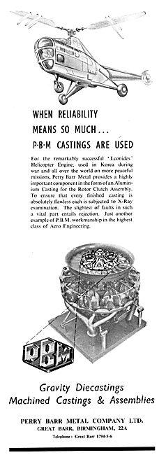 Perry Barr Aluminium Die Castings & Assemblies