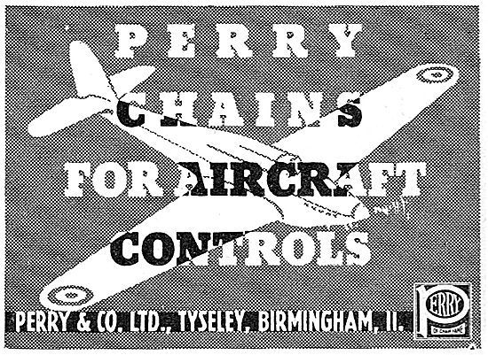 Perry & Co. Tyseley. Chains For Aircraft Controls