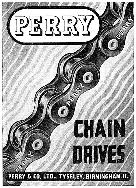 Perry Chain Drives 1943 Advert