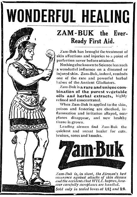 Zam-Buk First Aid For Aviators