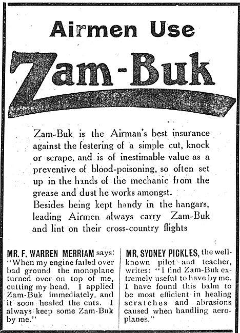 Airmen Use Zam-Buk To Treat Cuts