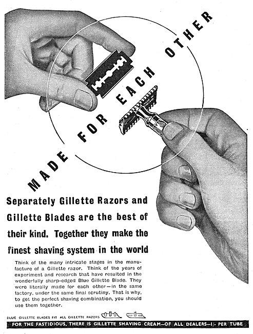 Gillette Razor Blades