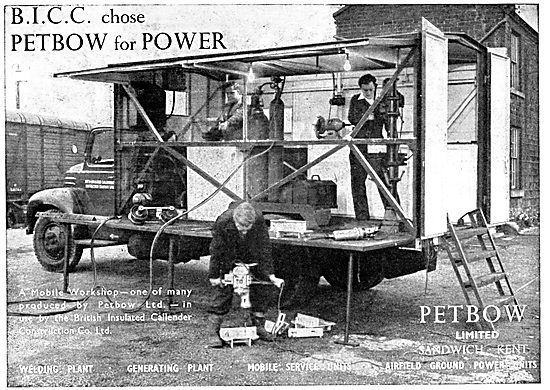 Petbow Aircraft Ground Power Units - Engine Driven Power Plant
