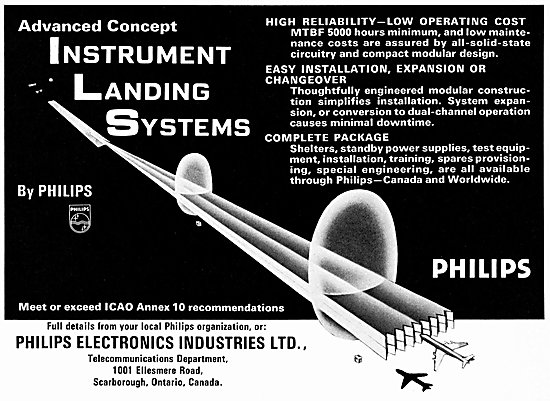 Philips ILS - Instrument Landing Systems