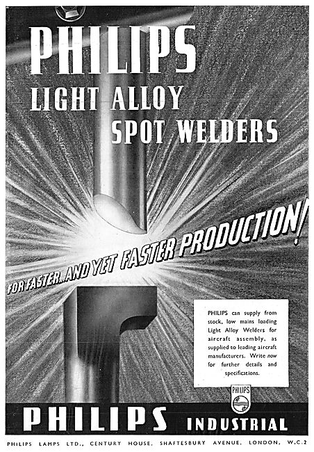 Philips Light Alloy Spot Welders