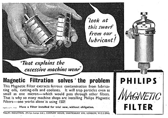 Philips Magnetic Filters For Aircraft