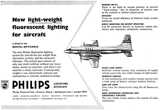 Philips Lighting For Aircraft
