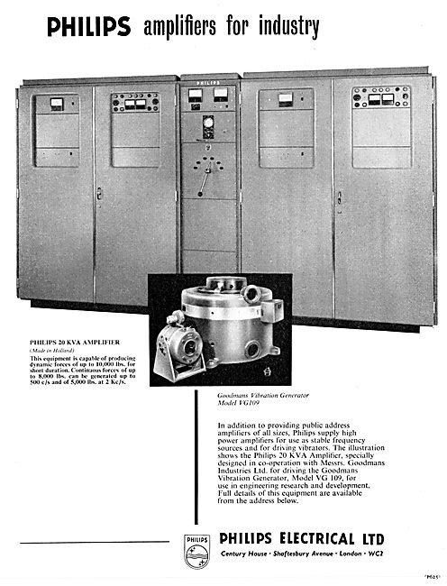 Philips Amplifiers