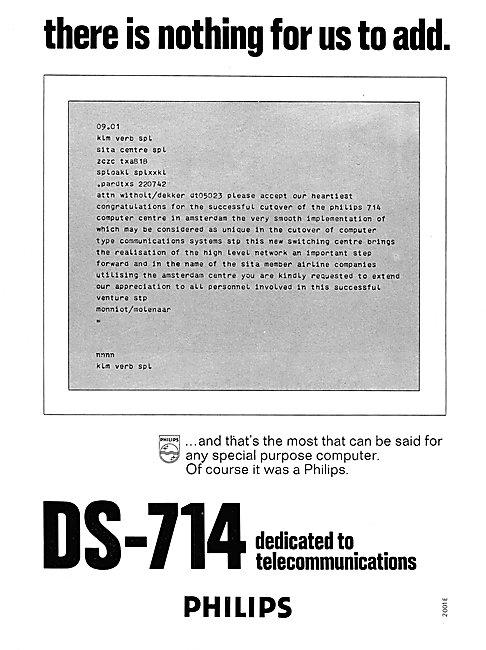 Philips DS-714 Computer