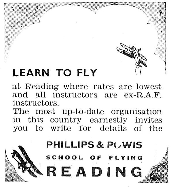 Learn To Fly At Reading With Phillips & Powis