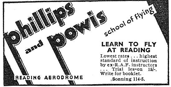 Phillips & Powis School Of Flying Reading Aerodrome