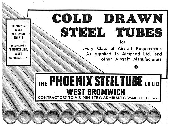The Phoenix Steel Tube Co : Cold Drawn Steel Tubes