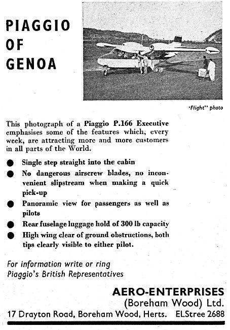 Piaggio P166