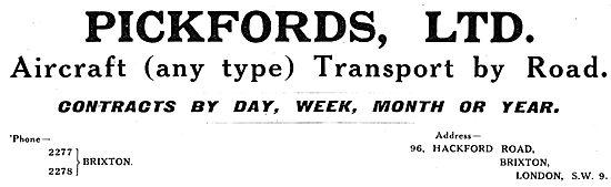Pickfords - Aircraft Transport Services