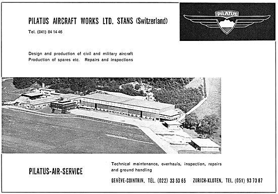 Pilatus Aircraft 1954