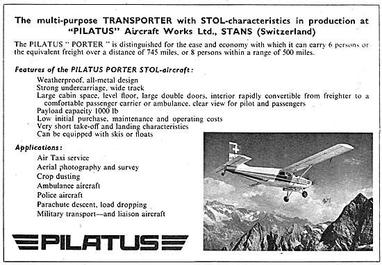 Pilatus Porter 1959