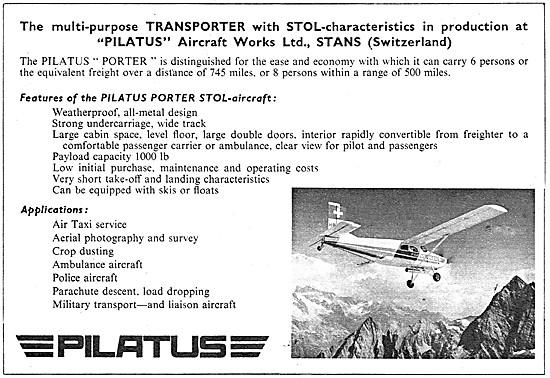 Pilatus Porter 1960