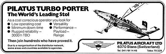 Pilatus Turbo Porter