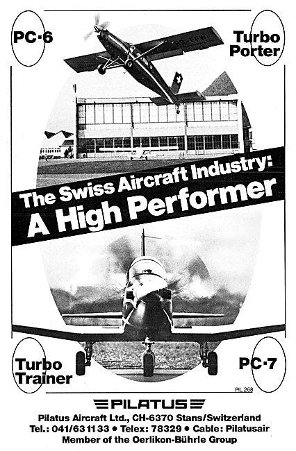 Pilatus PC-6   Pilatus PC-9