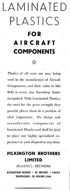 Pilkington Laminated Plastics 1942 Advert