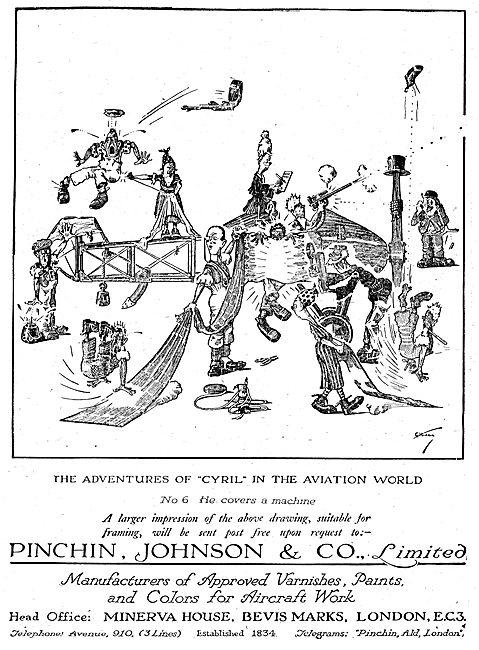 Pinchin Johnson Aircraft Paints & Varnishes
